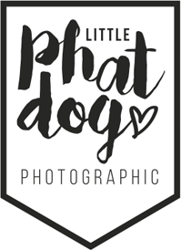 Little Phat Dog Photographic Logo